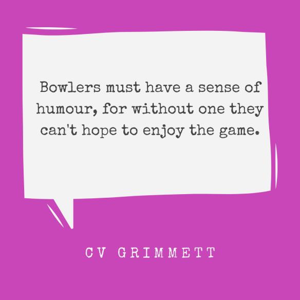 Bowlers CV Grimmett